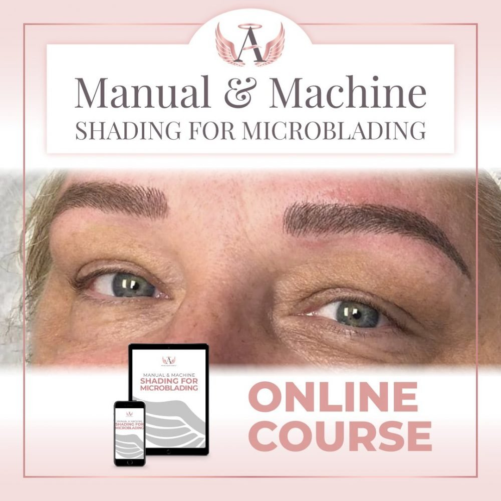 Manual & Machine Shading For Microblading